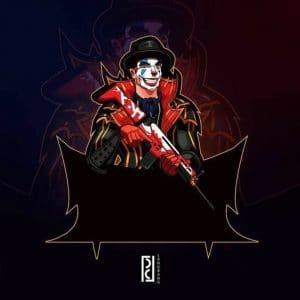 Desain Logo FF Joker