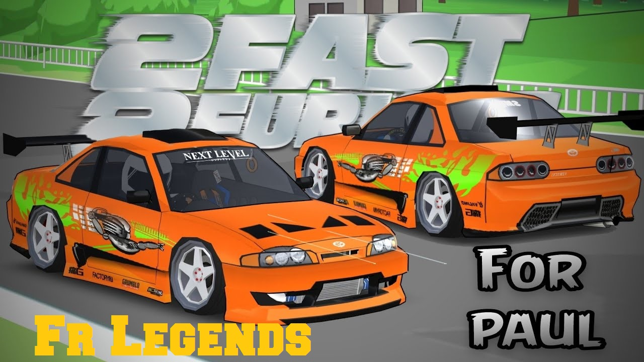 livery toyota supra paul fast and furious
