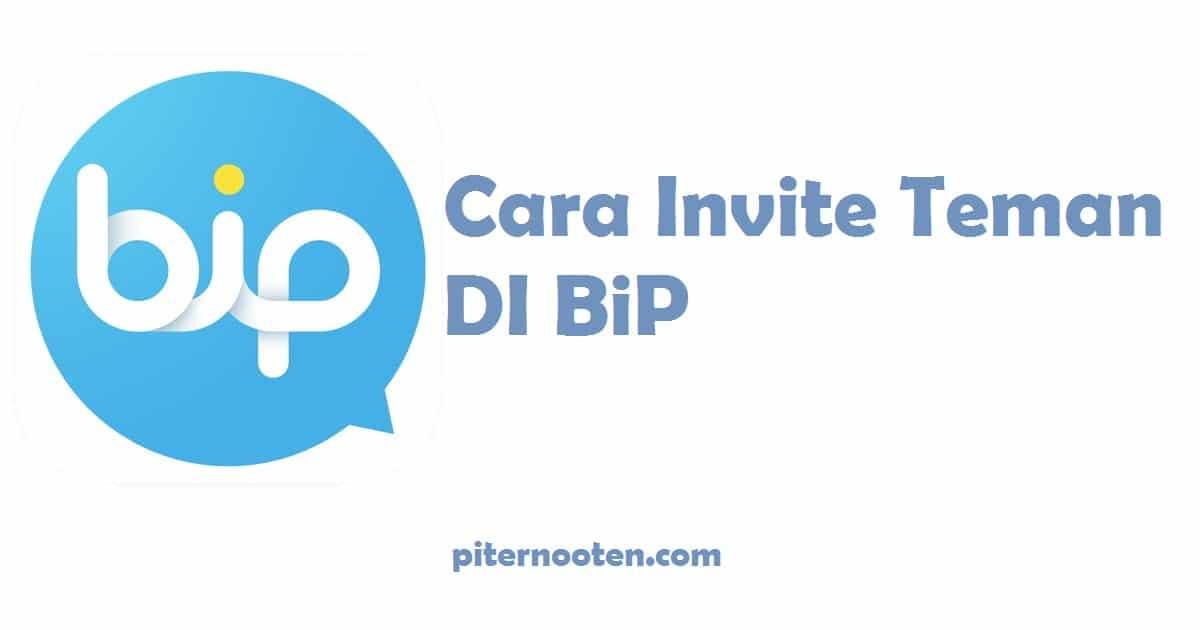 cara invite teman bergabung bip