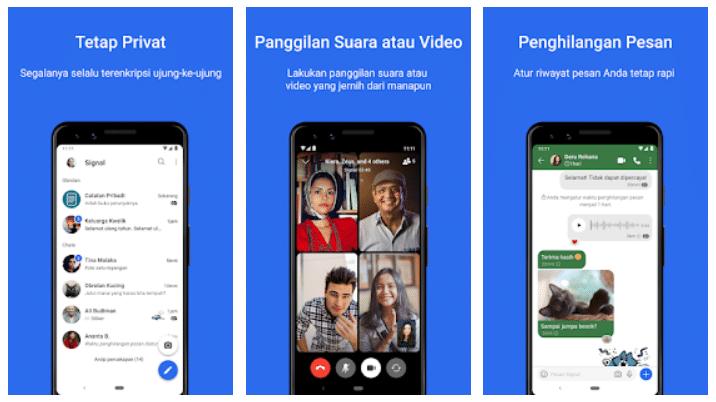 kelebihan signal app