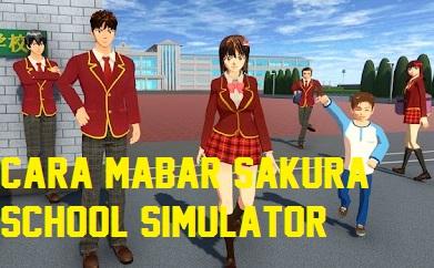 cara mabar sakura school simulator