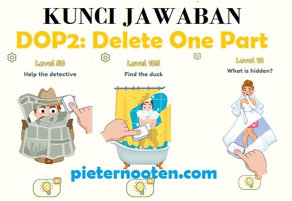 kunci jawaban dop 2 delete one part