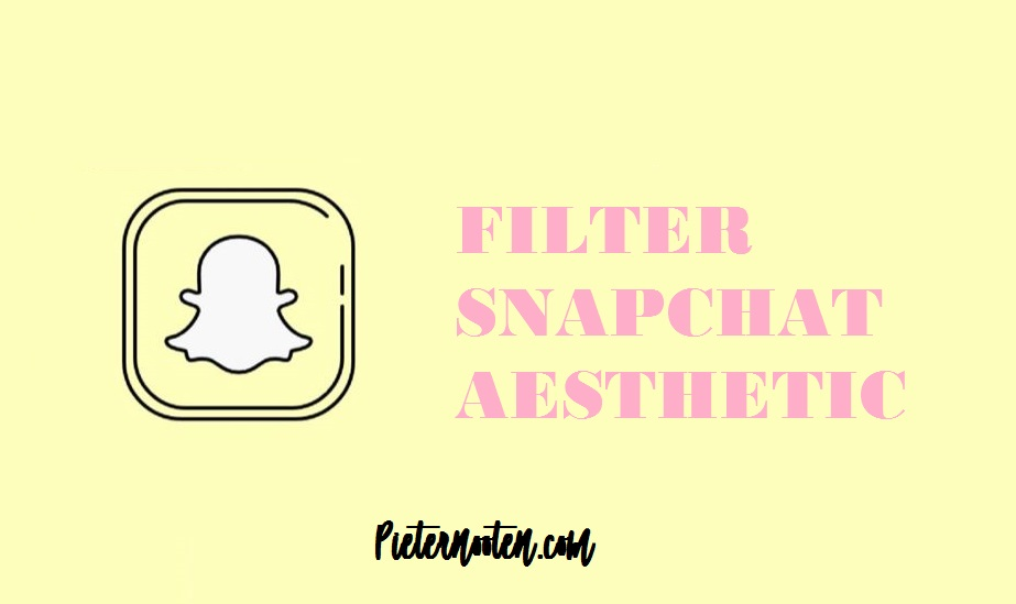 filter snapchat aesthetic