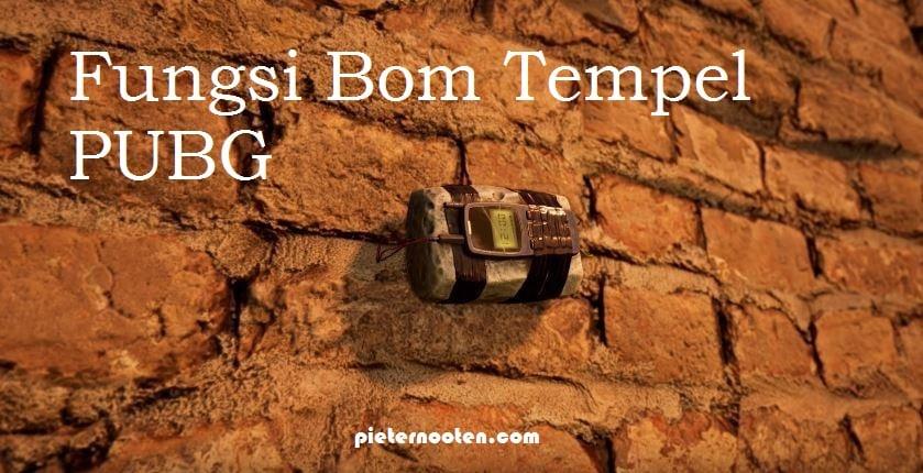 Fungsi Bom Tempel PUBG