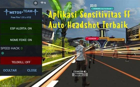 Aplikasi Sensitivitas FF Auto Headshot Terbaik 2021