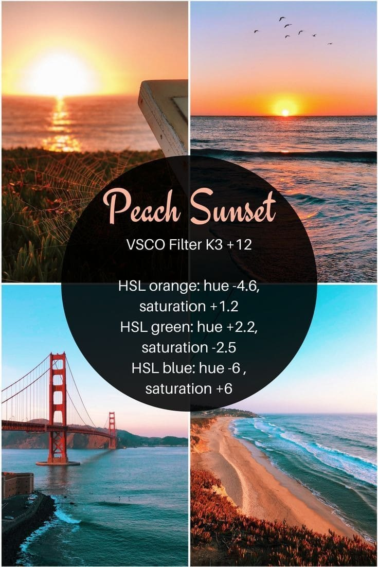 rumus edit sunset
