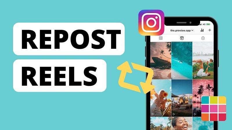 membuat story dari reels instagram