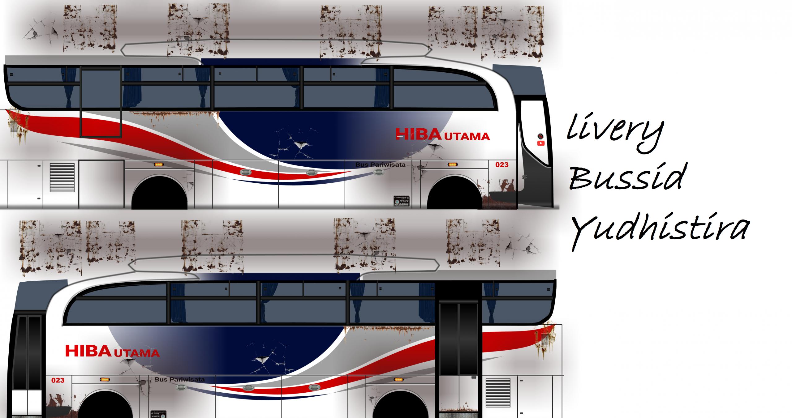 livery bussid yudistira hd download